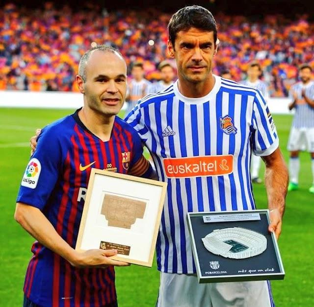 Ato final: O adeus a Xabi Prieto e Carlos Martínez e o futuro indefinido