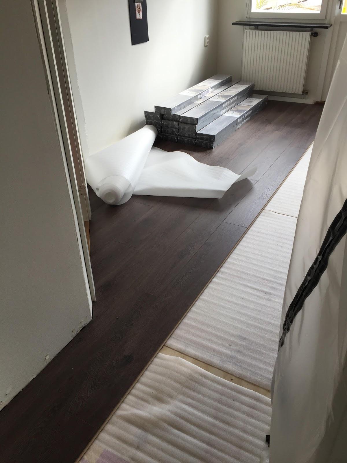 57an: projekt nr 3   nytt golv på hela undervåningen