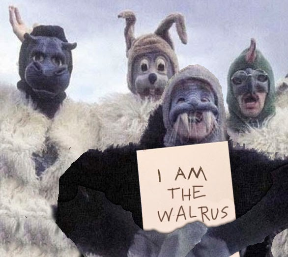 Beatles walrus costume