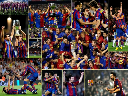 COOL IMAGES: FC Barcelona Team Wallpapers