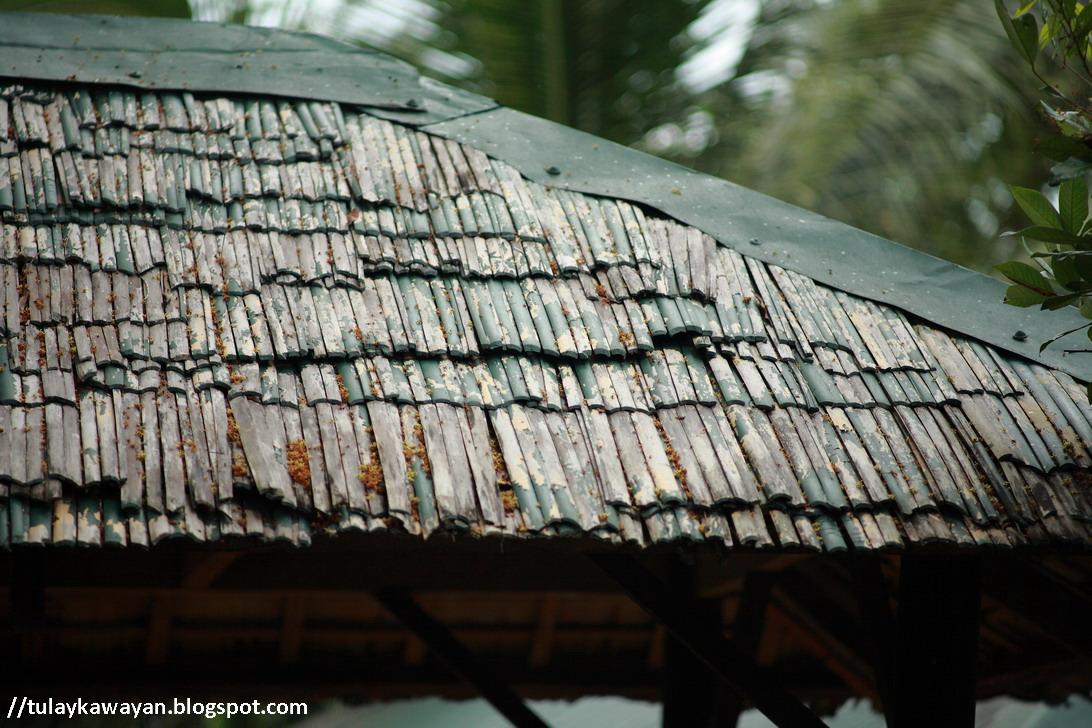 Tulay Na Kawayan Bamboo Roofing