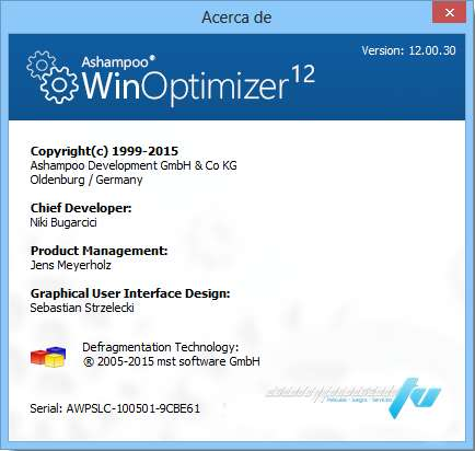 Ashampoo WinOptimizer 12.00.3 Final Español Optimiza tu Windows