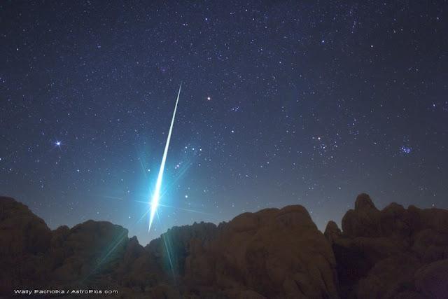 bola de ogo da chuva de meteoros Perseidas