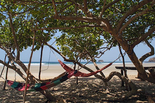 Hamacs à Playa Hermosa