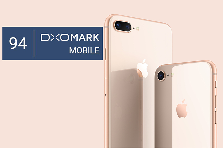 iPhone 8 Plus набрал 94 балла в рейтинге DxO