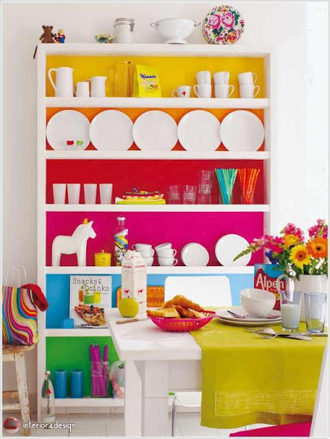 Colorful Kitchen Designs 3