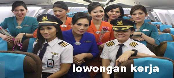 "Lowongan Kerja PT GARUDA posisi ""Flight Operation Officer"" (minimal D3)"