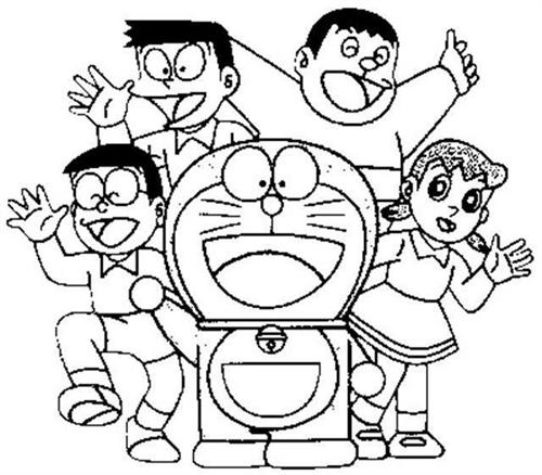 Doraemon Coloring Pages Learn