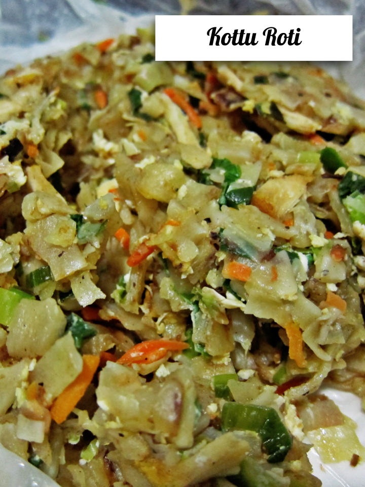 Kottu Roti in Sri Lanka
