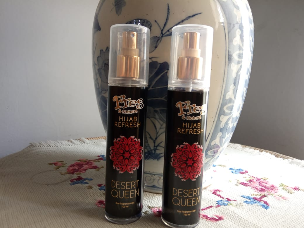 Review Fresh And Natural Hijab Refresh Desert Queen