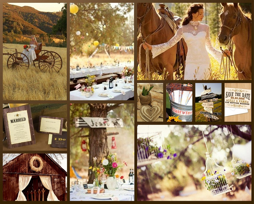 Country Western Wedding Decorations | Living Room Interior ...