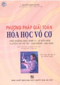 Phương Pháp Giải Toán Hóa Học Vô Cơ - Nguyễn Thanh Khuyến