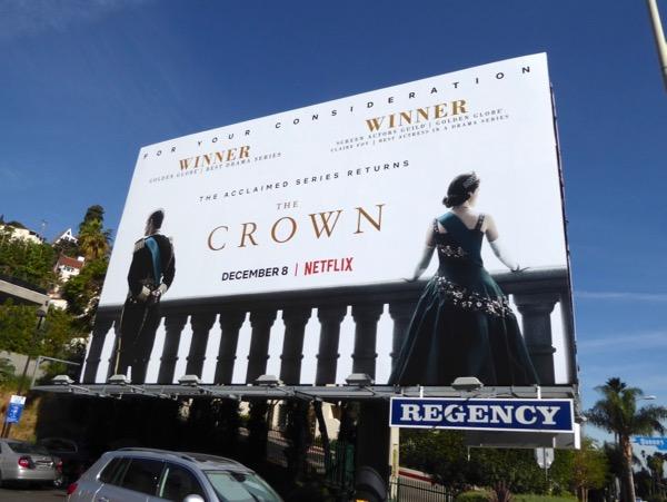 The Crown season 2 billboard