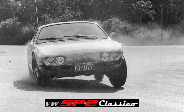 Teste do Volkswagen SP2