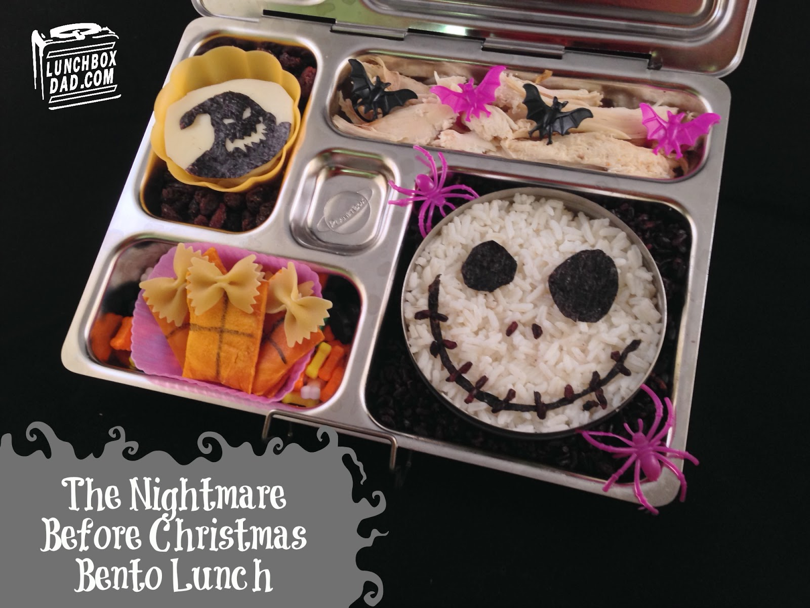 Lunchbox Dad: The Nightmare Before Christmas Jack and Oogie Boogie