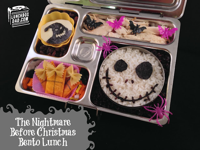 Jack Skellington Halloween lunch