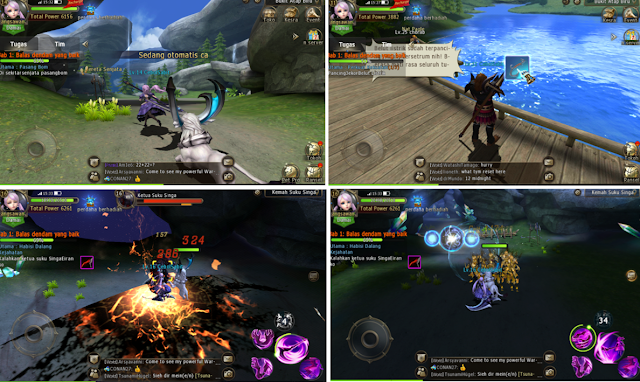 Gerakan Karakternya Pada Gesit! Game Android MMORPG 3D Daybreak Legends : Origin