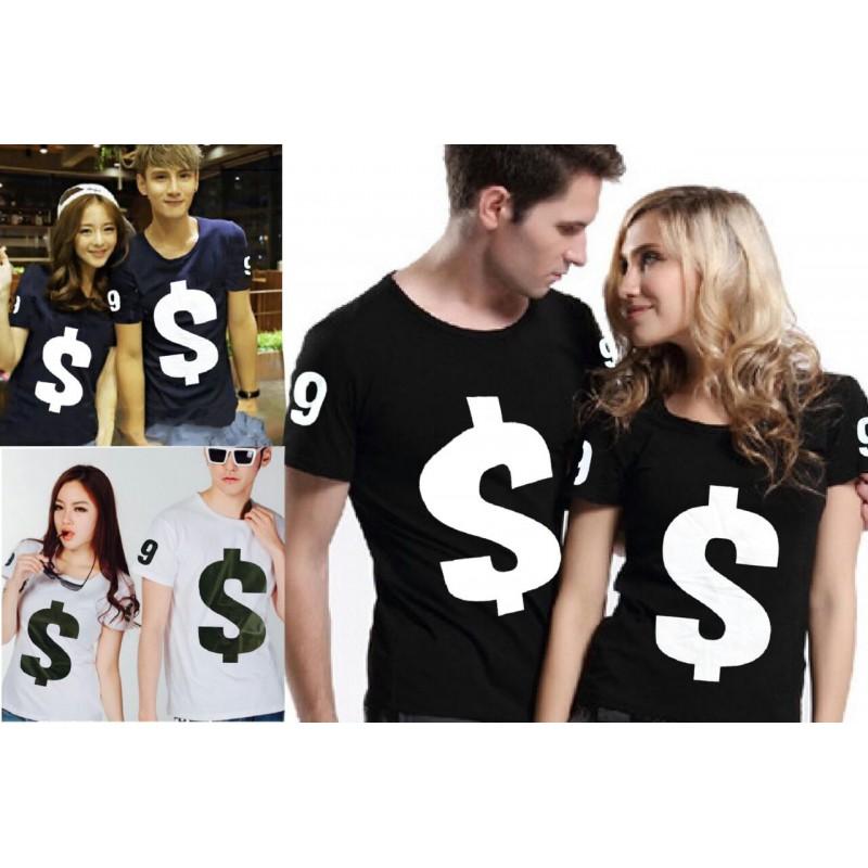 Jual Online Dollar Couple Murah Jakarta Bahan Combed Terbaru