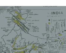 भारत व विश्व के महत्वपूर्ण मानचित्र परीक्षा उपयोगी - Important Map