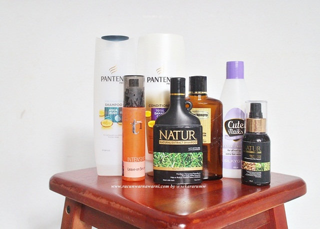 Empty Hair Cair Products