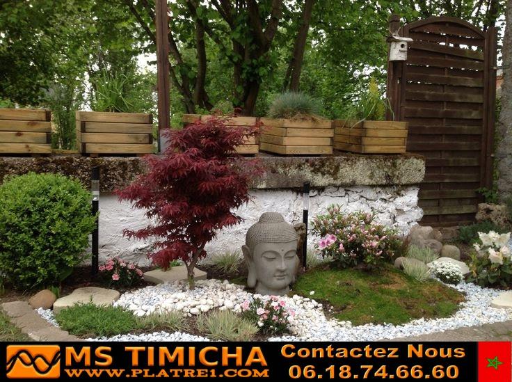 Decoration jardin marocain mod le chinois ms timicha - Deco jardin chinois poitiers ...