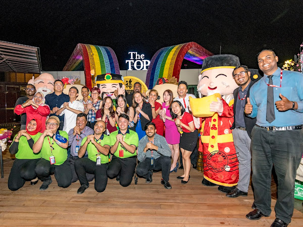 Celebrate CNY with Grand Fireworks & Snowing at The TOP Penang on 4th February 2019