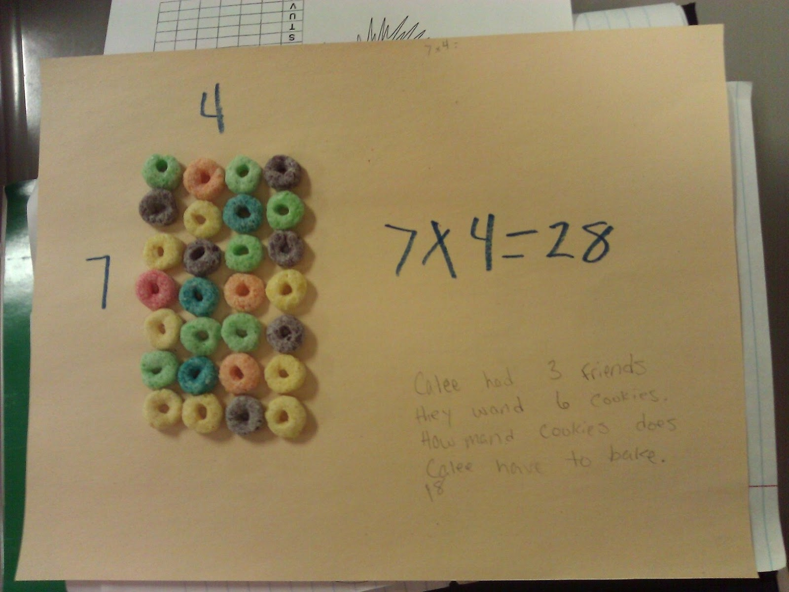 Multiplication Array Lessons 3rd Grade