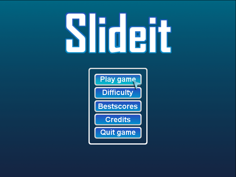 Slideit game
