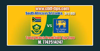 Match Prediction Tips by Experts SL vs RSA 3rd ODI 2019