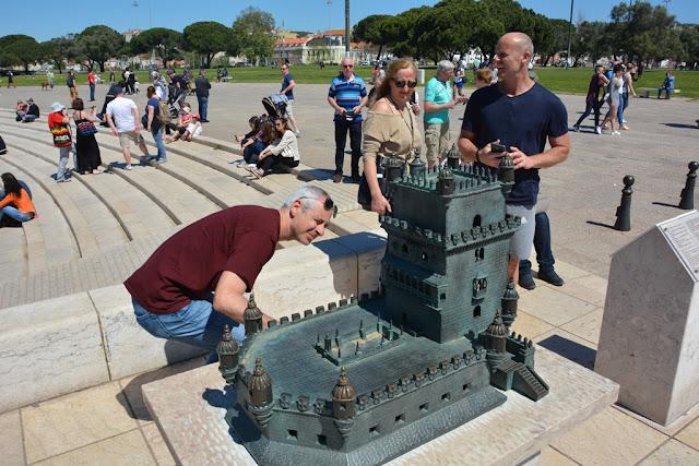 Belem Tower Lisbon visually impaired