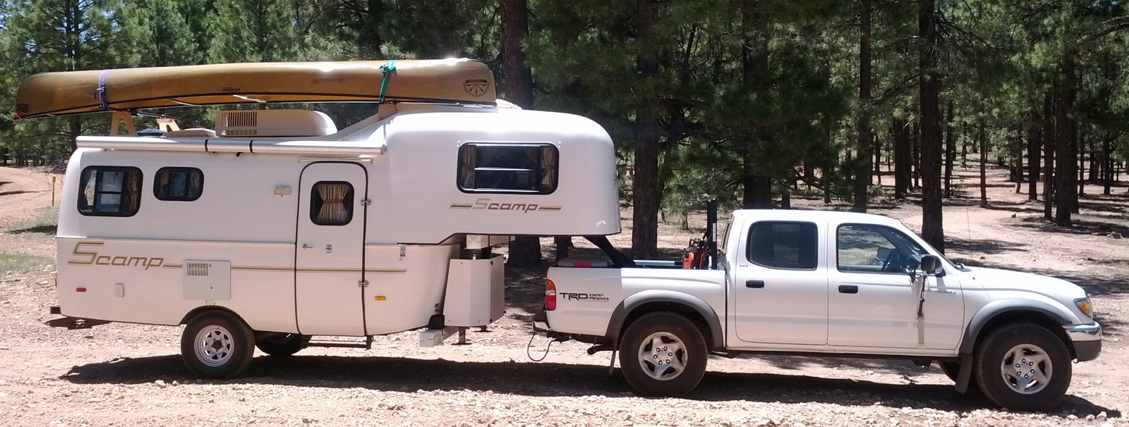 Foot Scamp Travel Trailer For Sale