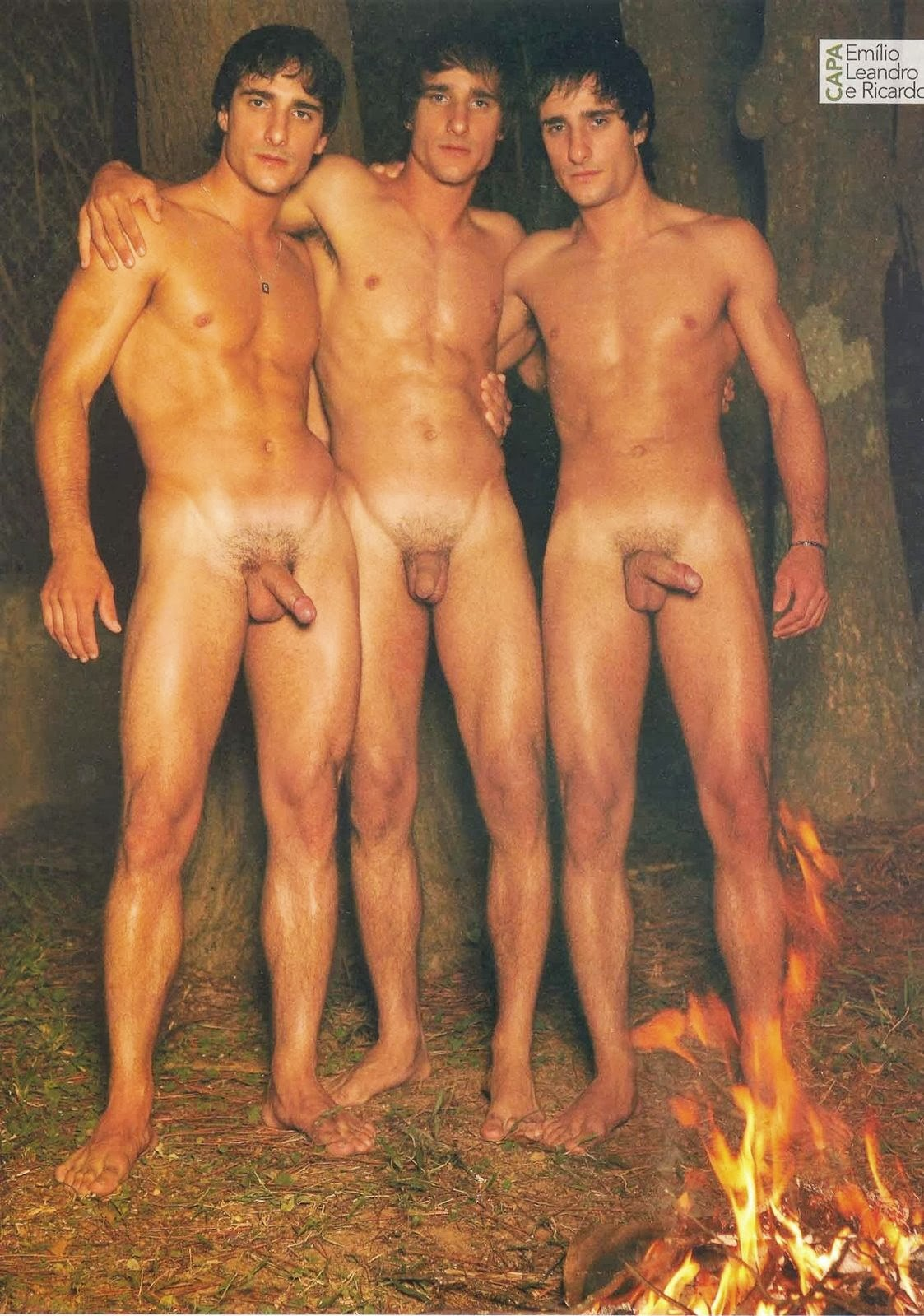 Two twin brothers gay sex xxx three