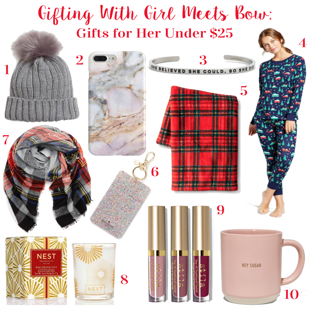 Holiday Gift Guide Launch! Gifts for Her Under $25