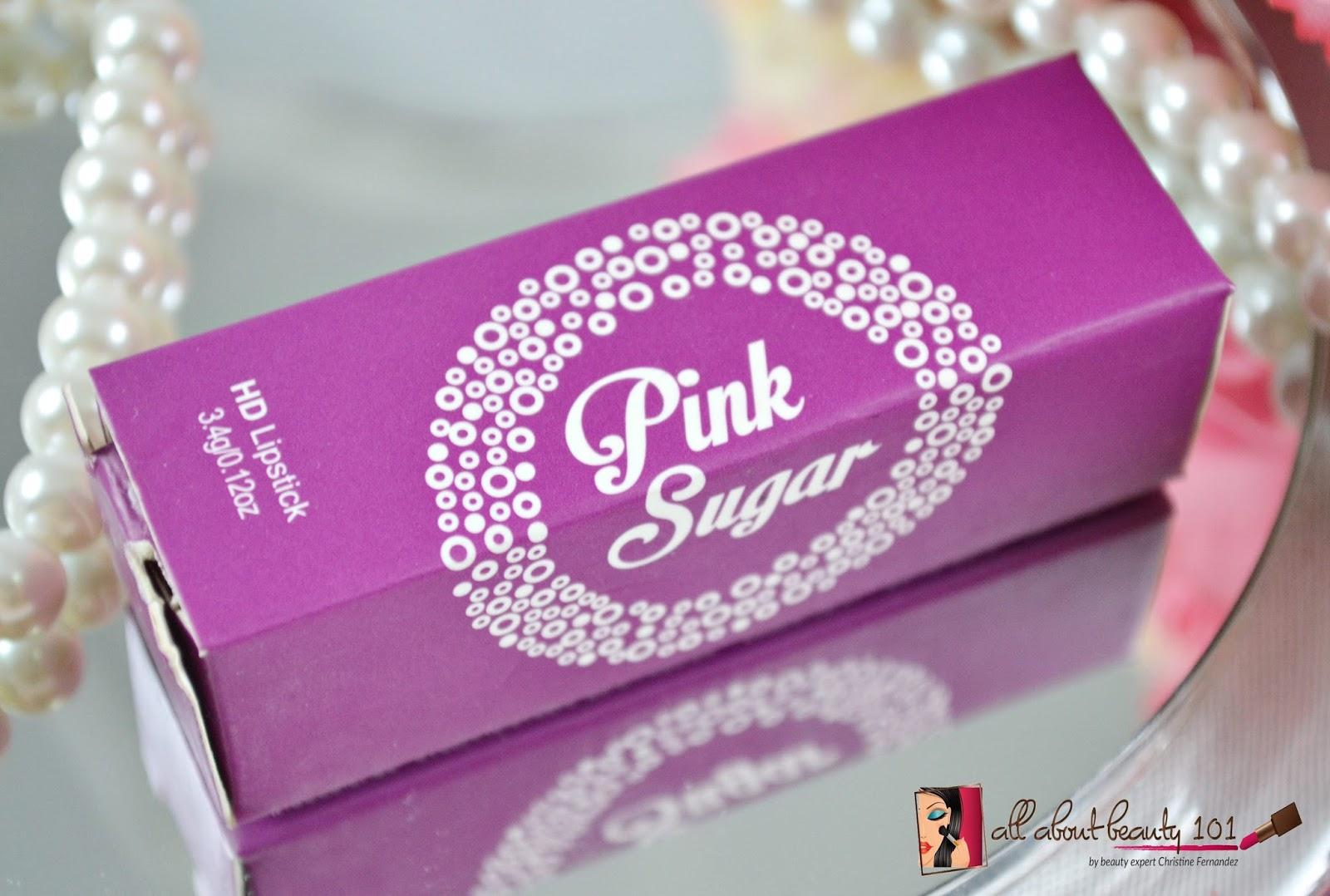 Pink Sugar: HD Lipstick In Gossip   All About Beauty 101