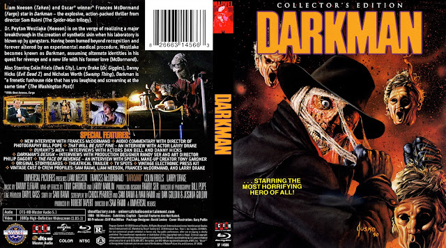 Darkman Bluray Cover
