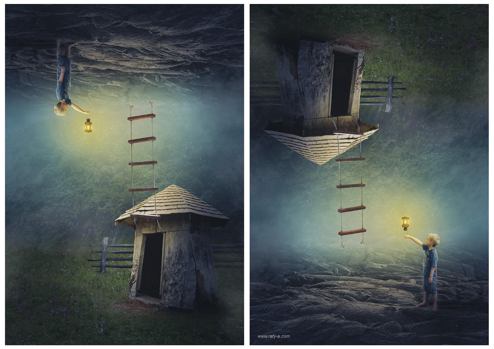 Upside Down Art Making Upside Down Manipulation Scene Effect In Photoshop Rafy A