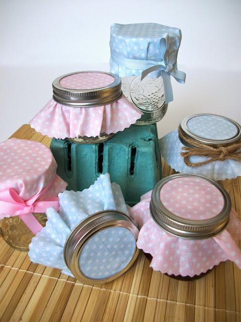 baby shower favor jars