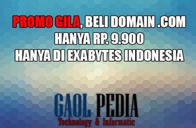 promo domain exabytes