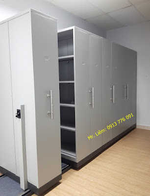 Tủ Compactor Godrej - Tay Đẩy