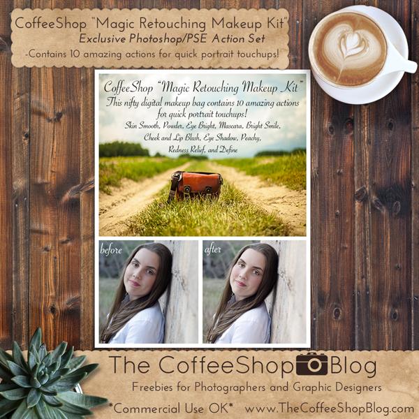 CoffeeShop Designs: Action & Preset Pack