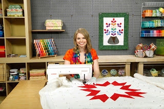 Leah Day at the Craftsy studio