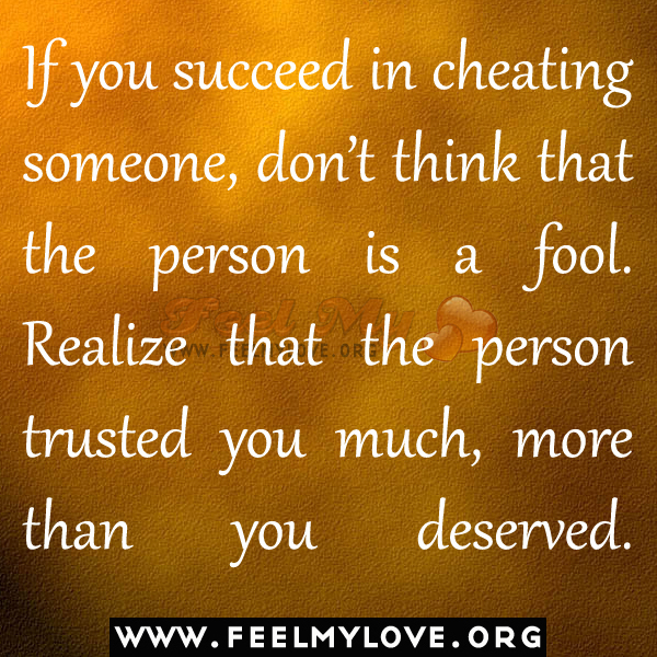 Cheating On Someone You Love Quotes: He Cheated On You Quotes. QuotesGram