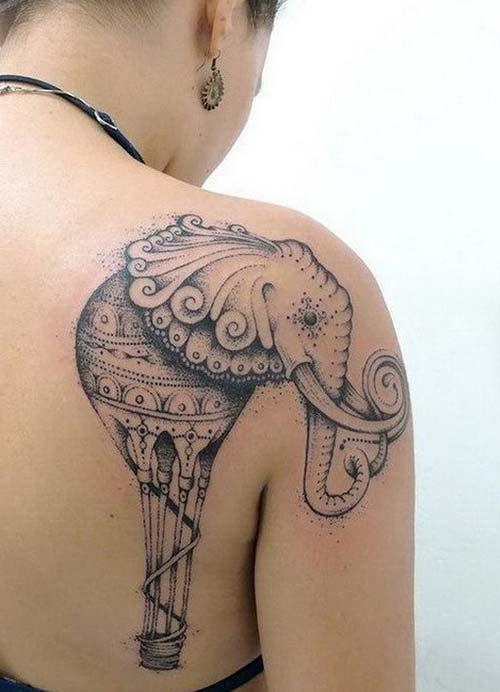 kadın omuz dövmeleri woman shoulder tattoos 13