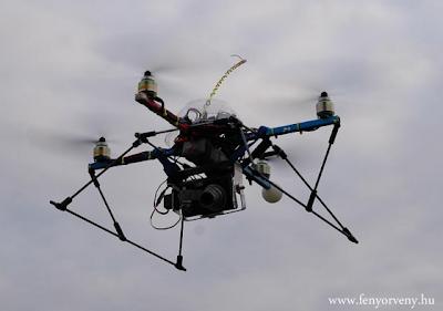 Drónvadász drónt épített a hírhedt hacker