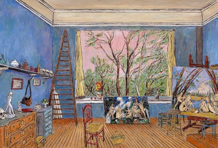 Damian Elwes 1960 | British painter | The Artist's Studio