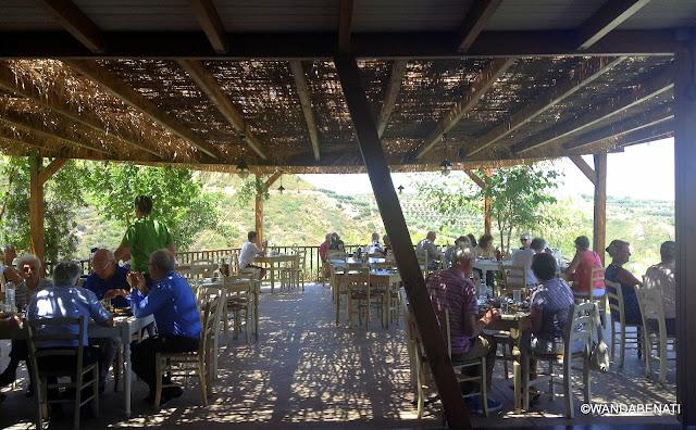 Il ristorante delParco Botanico di Creta