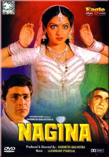 Poster of Nagina 1986 720p Hindi HDRip Full Movie Download