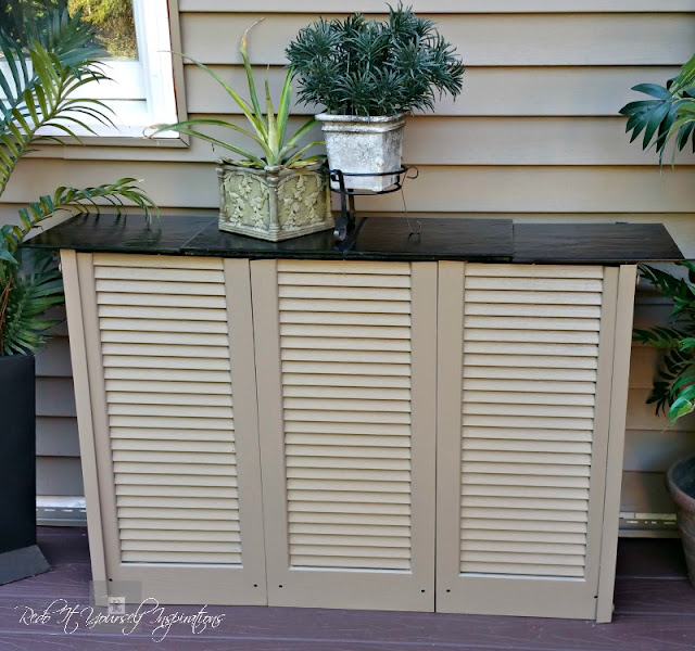 Diy Utility Meter Cover Redo It Yourself Inspirations