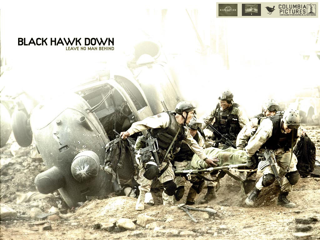 An analysis of a film about blackhawk down