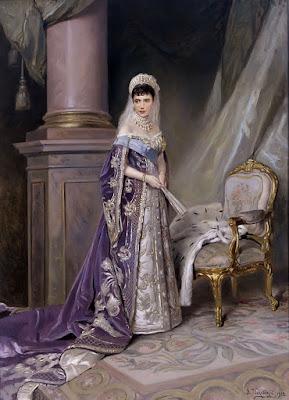 portretul-imparatesei-maria-feodorovna-v.makovski-1912
